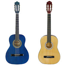Rocket 3/4 Size Classical Spanish Guitar - Natural or Blue