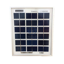 mini solar panel 9V 3W poly solar power 6v battery charge for pv Boat Marine