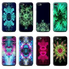 STUFF4 Gel/TPU Phone Case for Apple iPhone Smartphone/Symmetry Pattern/Cover