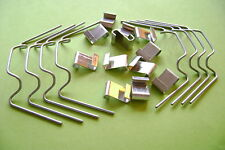 **FREE DELIVERY ** GREENHOUSE W and Z GLASS GLAZING CLIPS EXCELLENT  VALUE