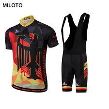 Miloto new Short Sleeve Cycling Jersey Set Bike Clothing Summer Bicycle Clothes