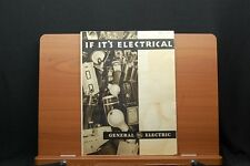 Chicago World's Fair 1933 General Electric If It's Electrical Brochure