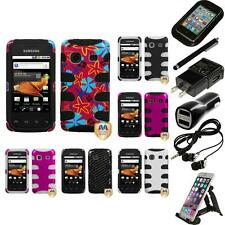 For Samsung Prevail M820 Hybrid IMPACT Hard Soft Rugged Armor Case Accessories
