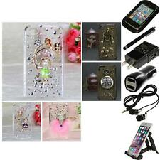 For Apple iPhone 4/4S Diamond Diamante Bling Rhinestone Case Cover Accessories