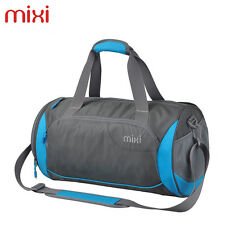 Mixi Carry On Sports Gym Bag Travel Duffel Bags with Zippered Shoe Compartments