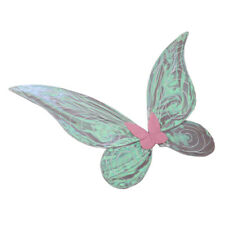 Adult Kids Glitter Color Changing Butterfly Angel Fairy Wings Party Fancy Dress