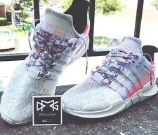 Digital Camo Flat Shoe laces Turbo Red for EQT Support ADV Boost NMD Primknit