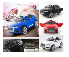 AUDI Q7 KID CHILD RIDE ON CAR TWIN MOTOR 45W + PARENTS CONTROL Electric Lacquer!