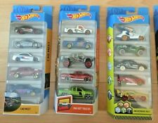 HOT WHEELS 5 CAR GIFT PACK - CHOOSE PACK - NEW SEALED PACKS