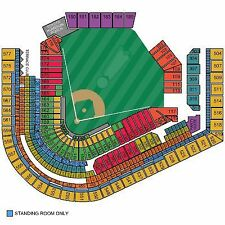 2 tickets Indians vs Athletics A's Tuesday 5/30 Section 456 Row A - Front row!