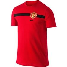 Nike Youth Manchester United Core Soccer T-shirt Red 620577-623