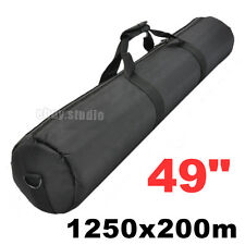 125cm Padded Camera Tripod Carry Bag Travel Light Stand Case Fits Manfrotto etc
