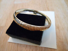 "Estate Solid 10K Yellow Gold Bangle Bracelet 7"" Jewelry Not Scrap 10KT 5.9 Grams"