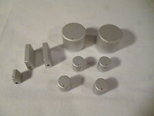 Yamaha CR-440 Knob Set Brushed Aluminum fits other models