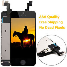 For iPhone 5S LCD Replacement Display Screen Assembly w/ Touch Digitizer Black
