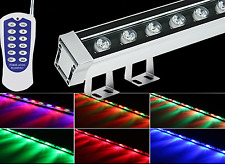 9W LED Wall Washer Linear Light RGB Warm White Red Green Blue Purple Yellow IP65