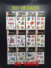 Kids Adults Temporary Tattoo Tattoos Stickers Costume Party Favor 30+design