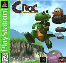 Croc: Legend of the Gobbos - Playstation 1 ps1  game only