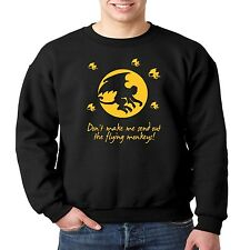 Crewneck Sweatshirt Don't Make Me Send Out The Flying Monkeys Wizard Of Oz