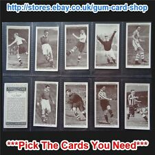☆ Churchman Association Footballers 2nd Series 1939 (VG) *Please Select*