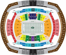 Lower End Zone New York Jets PSL (Personal Seat License) 2 Seats Section 149