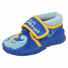 Infant Boys Clarks Casual Slippers Fish Soup