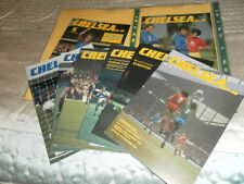 CHELSEA HOME PROGRAMMES FROM 1985/6 - CHOOSE FROM LIST