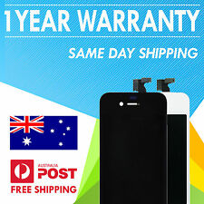iPhone 4 LCD + Front Screen Digitizer Assembly (Black & White)