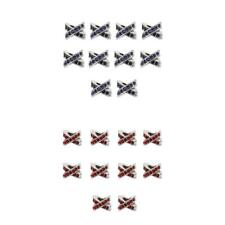 10Pcs/Lot Cross Crystal Love Spacer Beads Charms Pendant for DIY Jewelry Makings