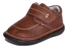 Brown Boys Loafer Dressy Squeaky Shoes RUNS BIG, Sizes 3, 4, 5, 6, 7