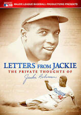 Letters From Jackie The Private Thoughts Of Jackie Robinson(DVD) NEW *Free Ship*