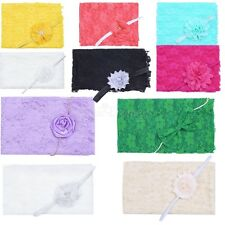 Newborn Baby Kids Lace Backdrop Wrap Cloth Blanket Prop Outfit Photo Photography
