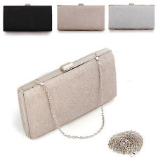 NEW Womens Matte Evening Bag Handbag Party Cocktail Prom Clutch Chain Bags Purse