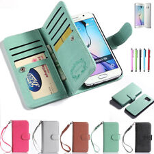 Magnetic Wallet Flip PU Leather Card Holder Case Cover for Phone Accessories