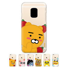 S2B Kakao Friends Flower Jelly Slim Thin Bumper Cover Case For Samsung Galaxy S5