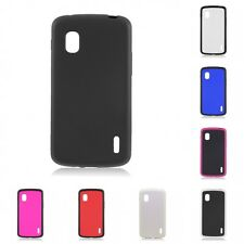For LG Google Nexus 4 Case Slim Thin Hard TPU Shockproof Cover Hybrid