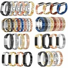 Luxury Replacement Stainless Steel Band Wristband Strap Bracelet For Fitbit Alta