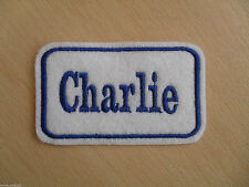 Personalised Name Patch - Various Colours Available - Iron On - Any Name Added
