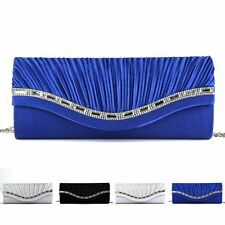 Gorgeous Women Rhinestone Handbag Evening Party Clutch Bag Wedding Wallet Purse