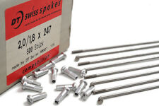 247mm DT Swiss Competition 2.0/1.8/2.0 Swiss made silver spokes. Free shipping
