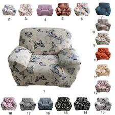 Removable 1-seater Home DIY Stretchy Protector Sofa Cover Couch Lounge Slipcover