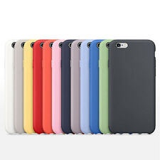 Ultra-thin Luxury Real Silicone Case Cover Skin For Apple iPhone 6 6S Plus