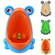 Frog Training Urinal Potty Bathroom Kids Pee Trainer Toilet for Boy Toddler Cute
