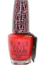 OPI NAIL POLISH Pink Shatter 15ml Pink crackle polish