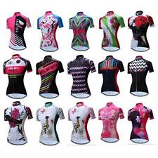 New Cycling Jersey Bike Short Sleeve Clothing Bicycle Shirt for Women