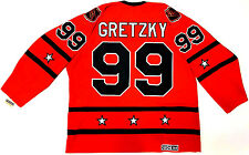 WAYNE GRETZKY 1980 NHL ALL STAR GAME CCM VINTAGE JERSEY 1ST JOE LOUIS ARENA NEW