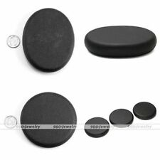 1pc Spa Heat Therapy Black Rock Basalt Stone Beauty Massage Relief Gift New
