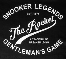 Snooker Legends Tee The Rocket Inspired T Shirt Top Mens Great Gift