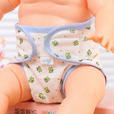 Cartoon Printing Baby Washable Breathable Cloth Fitted Reusable diaper Nappy