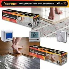 Electric Underfloor Heating mat kit 200w per m2 All Sizes in this Listing-Tile